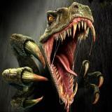 Плотоядный динозавр