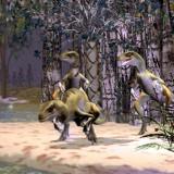 Спаривание дейнонихов (Deinonychus)