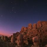 Рассвет над горой Немрут