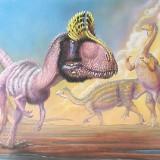 Cryolophosaurus & Massospondylus