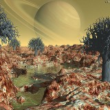 Инопланетный ландшафт