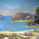 Ландшафт ордовикского периода