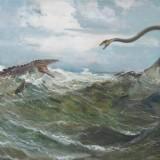 Tylosaurus dyspelor и lasmosaurus platyurus