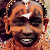 Масайская девочка