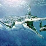 Гигантский плеозавр