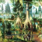 Буро-угольный лес