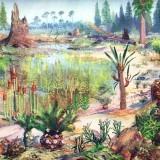 Мезозойский ландшафт