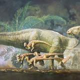 Tenontosaur and Hypsilophodonts