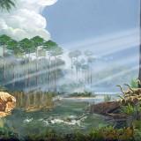 Триасовый ландшафт