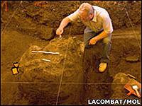 Раскопки на севере Франции