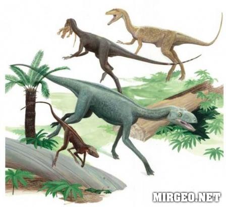 Животный мир триасового периода