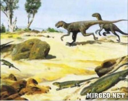 Животный мир мелового периода