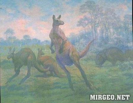 Доисторические кенгуру