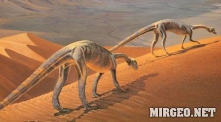 В пустыне триасового периода