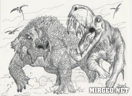 Иностранцевия и скутозавр