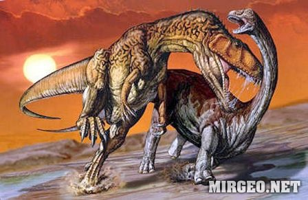 Carcharodontosaurus and Aegyptosaurus